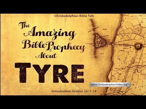 The Amazing Bible Prophecy About Ancient TYRE! Ezekiel 26:1-14