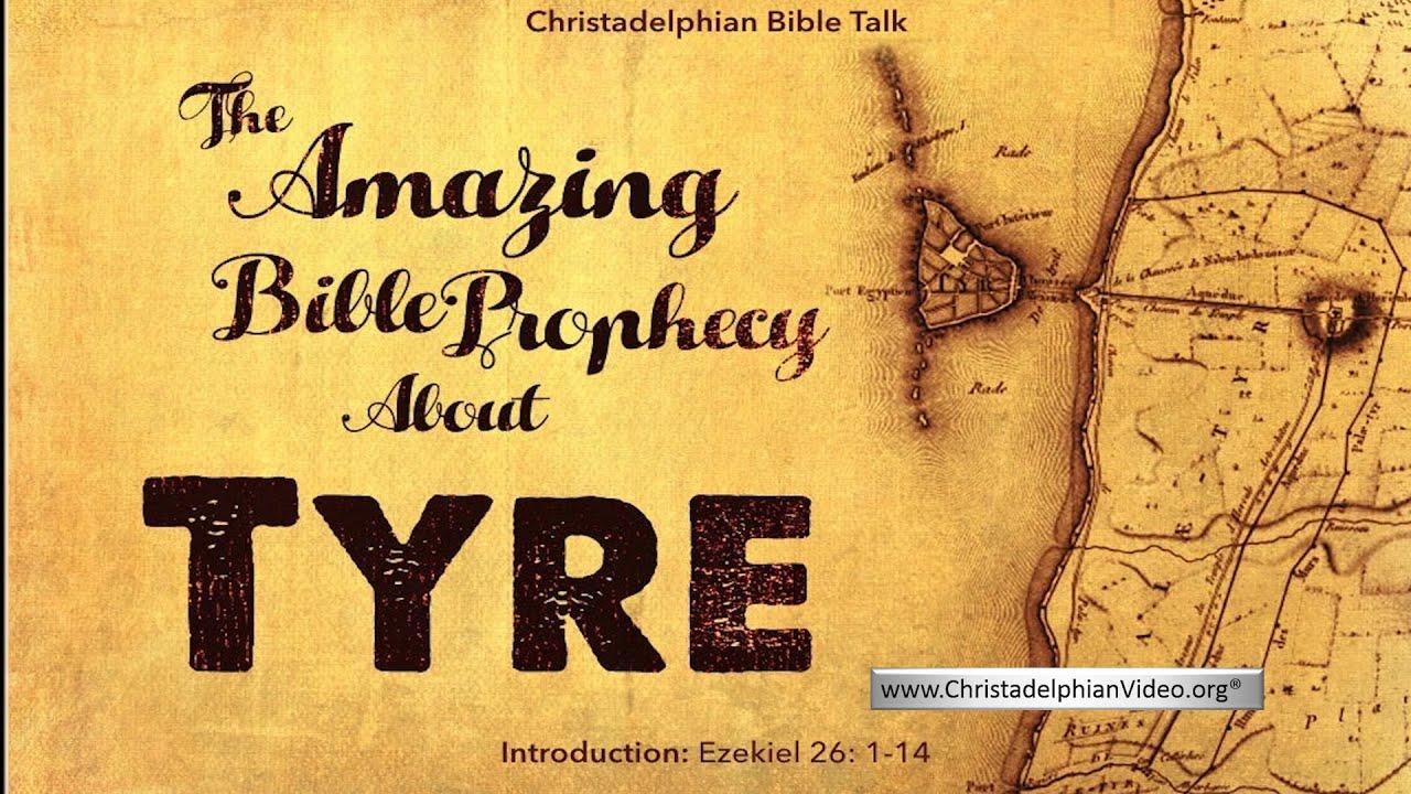 Download The Amazing Bible Prophecy About Ancient TYRE! Ezekiel 26:1-14