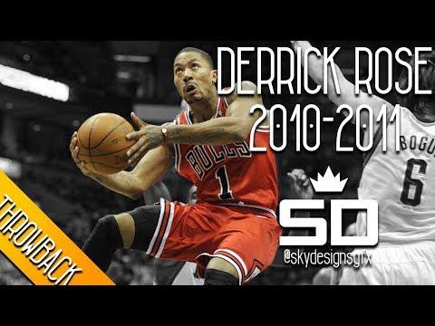 Derrick Rose THROWBACK 2010-2011 Season Highlights // 25.0 PPG, 7.7 APG, 4.1 RPG - MVP!