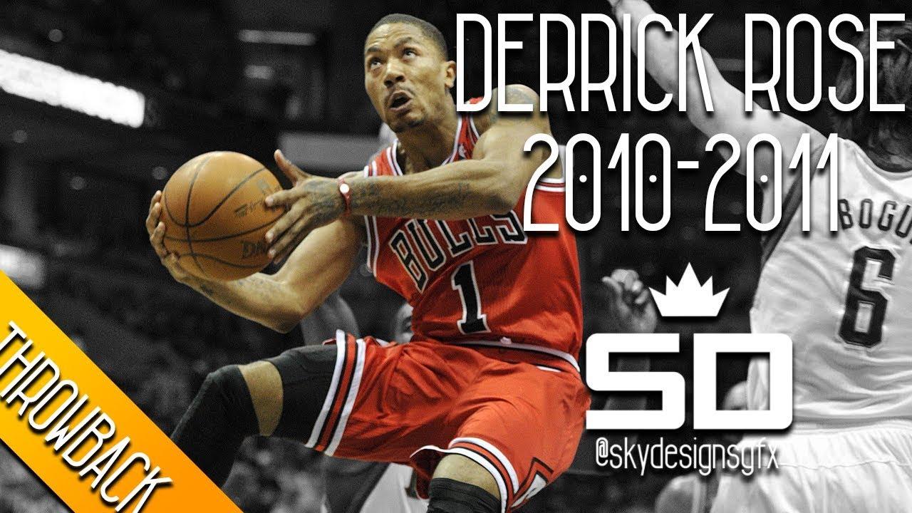 e1db2f4243a Derrick Rose THROWBACK 2010-2011 Season Highlights    25.0 PPG