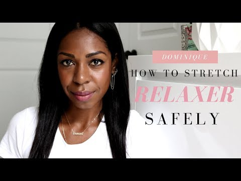 How To Stretch Your Relaxer Safely - Healthy Hair Hacks