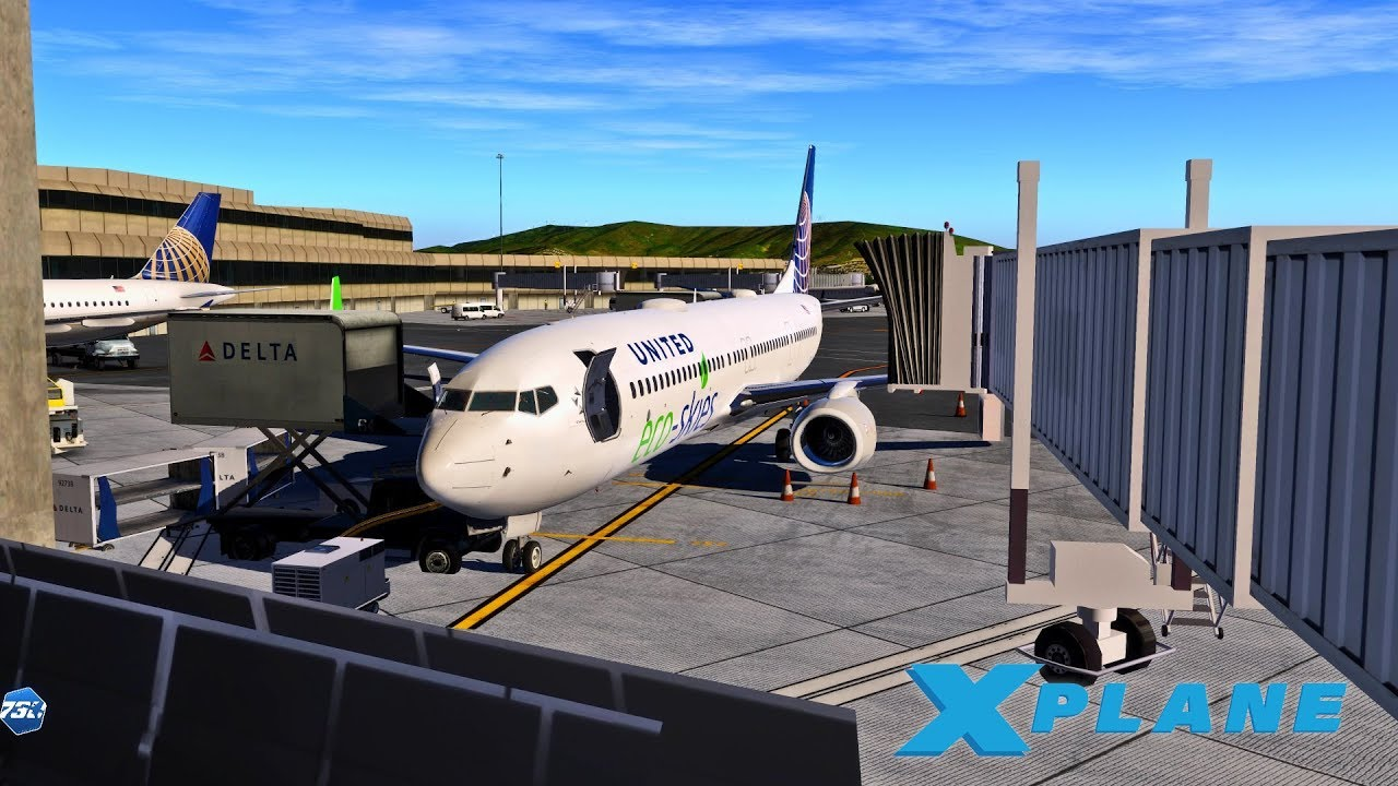 X Plane 11 | FIRST LOOK 737-900 ULTIMATE | Las Vegas - San Francisco