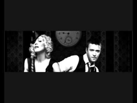 Across The Sky - Madonna feat. Justin Timberlake (HD with LYRICS)