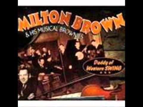 Milton Brown & His Musical Brownie - Beautiful Texas