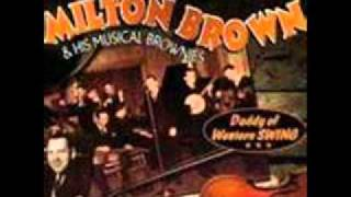 Milton Brown & His Musical Brownie - Beautiful Texas