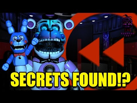 FNaF: Sister Location | All Funtime Freddy's Voice Lines Backwards! SECRETS FOUND!?!