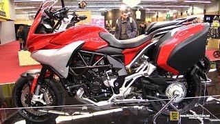 2016 MV Agusta Turismo Veloce Lusso 800 - Walkaround - 2015 Salon de la Moto Paris