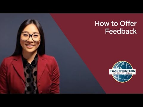 How to Offer Feedback