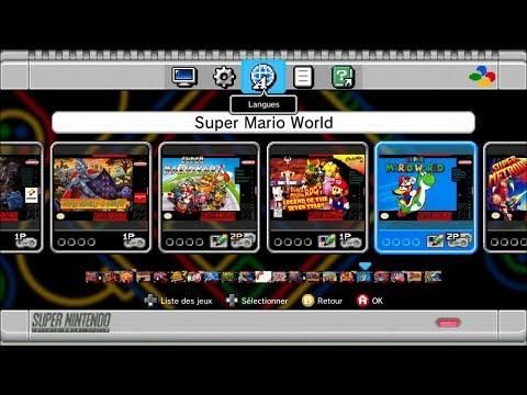 Super Nintendo Mini PREVIEW : aperçu des 21 jeux et des modes
