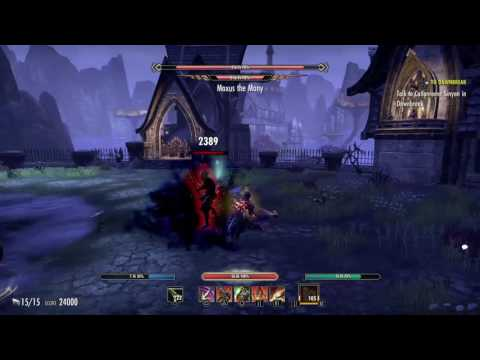 Eso: Don't try to tank Vma |
