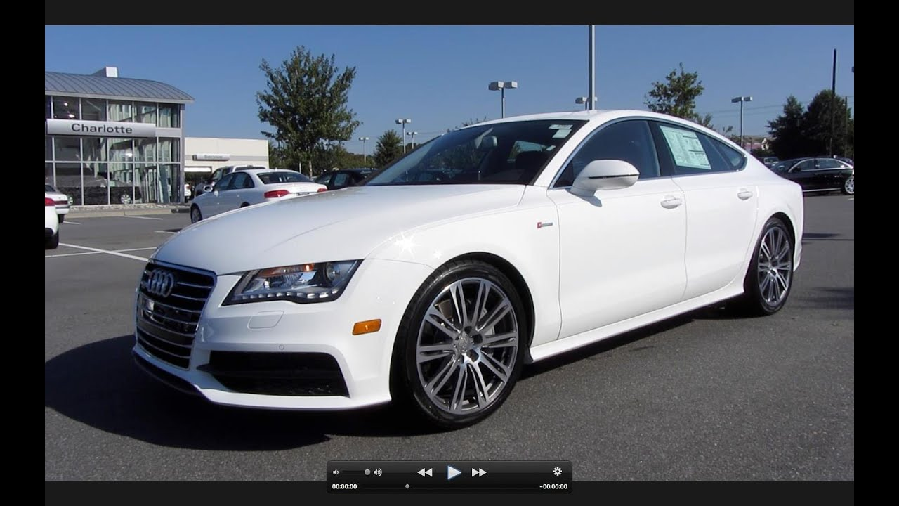 2012 audi a7 prestige start up exhaust and in depth tour youtube. Black Bedroom Furniture Sets. Home Design Ideas