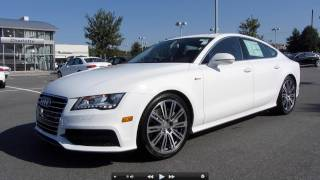 2012 Audi A7 Prestige Start Up, Exhaust, and In Depth Tour