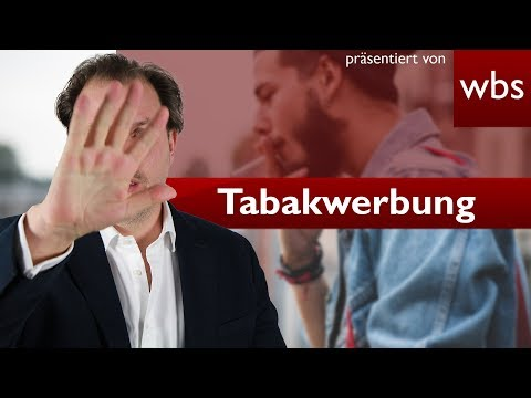 Tabakwerbung ist auch im Netz verboten | Rechtsanwalt Christian Solmecke