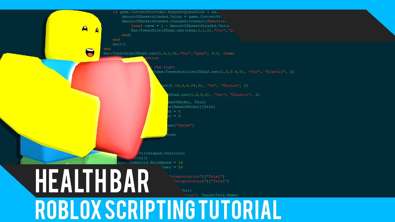 Roblox: Health Bar Tutorial - Roblox Scripting Tutorial