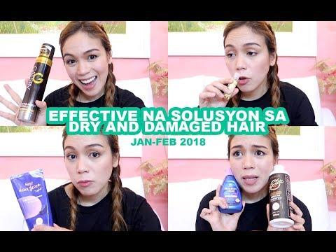 Effective Na Solusyon Sa Dry And Damaged Hair Jan