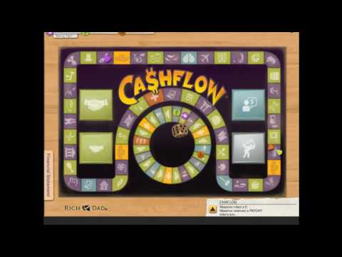 Things to do when you don't want to Study? Play Cashflow game #12