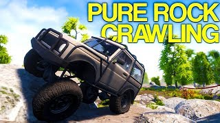 Pure Rock Crawling - Rock Crawling On Impossible Mountains - Pure Rock Crawling Gameplay