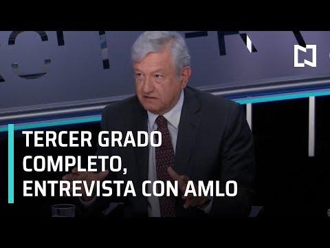 AMLO en Tercer Grado - Programa completo de la Entrevista del 19 de noviembre de 2018
