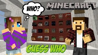 [Minecraft] - Guess who / Угадай кто