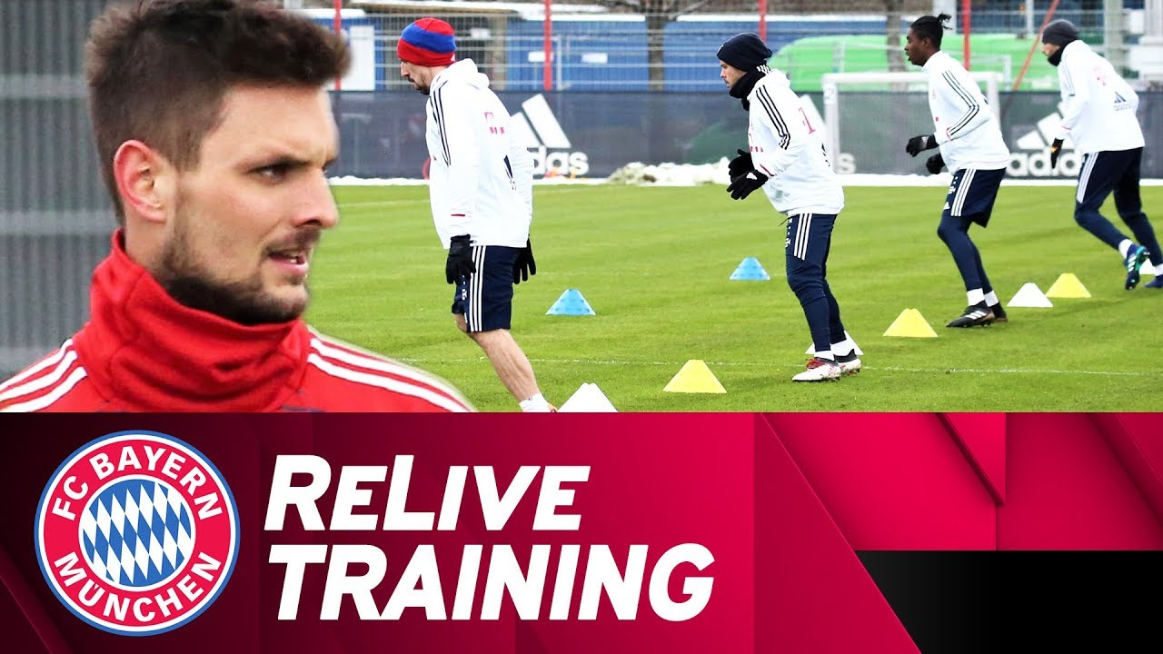 FC Bayern Training at Säbener Straße | ReLive
