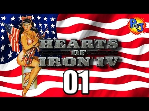 Let's Play Hearts of Iron 4 | Democratic United States Gameplay | USA Part 1