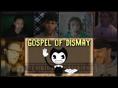 Gospel of Dismay Sg  DAGames Reacti Mashup