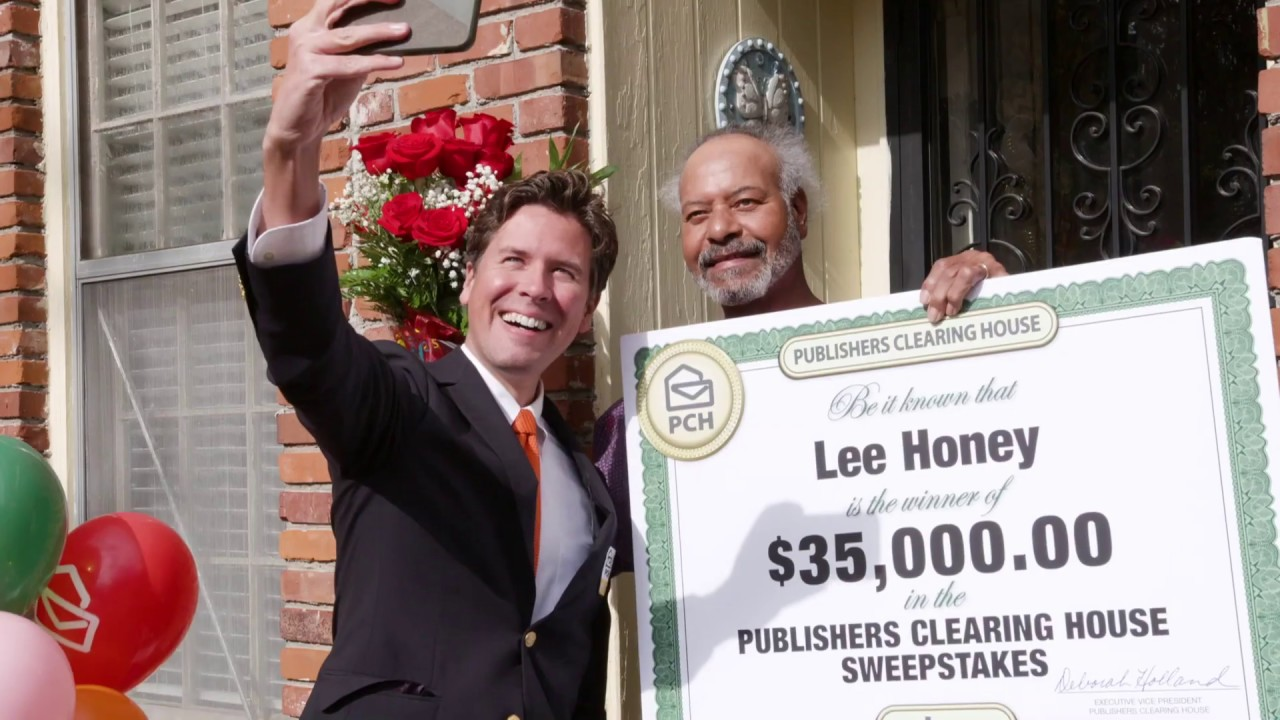 Publishers Clearing House Winners: Lee Honey of Memphis, TN Wins