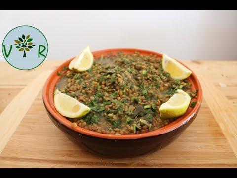 Comment faire une soupe de Lentilles | Riche en protéines et antioxydants (Vitamine C)