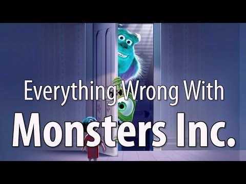 Thumbnail: Everything Wrong With Monsters Inc. In 14 Minutes Or Less