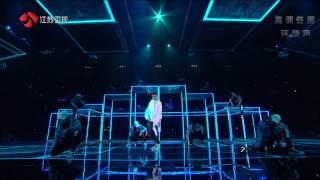 [1080P] 161231 Kris Wu - July performance + Dance break at Jiangsu TV 2017 New Year Countdown