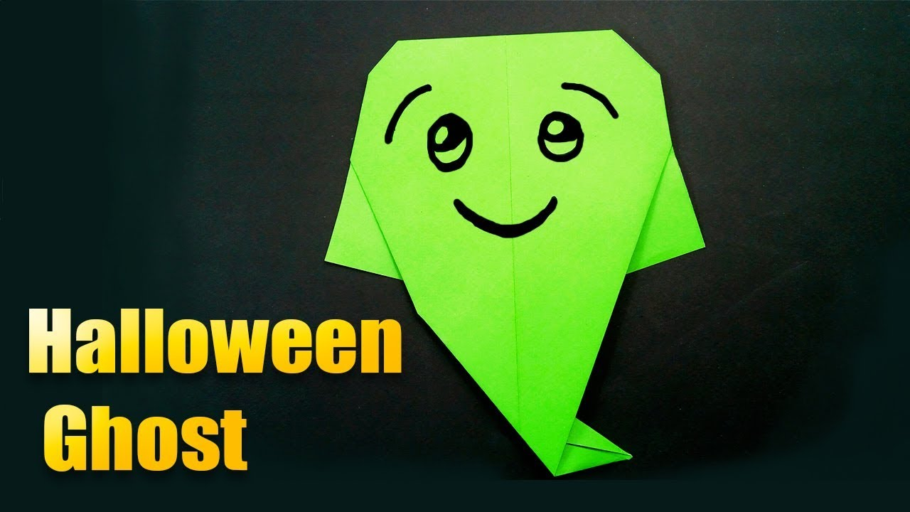 Easy origami halloween ghost super easy origami tutorialhow to easy origami halloween ghost super easy origami tutorialhow to make an origami ghost jeuxipadfo Choice Image