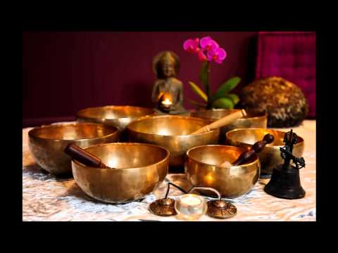 1 Hour Tibetan Singing Bowl Meditation Chakra Healing | Tone C# | Earth Tone