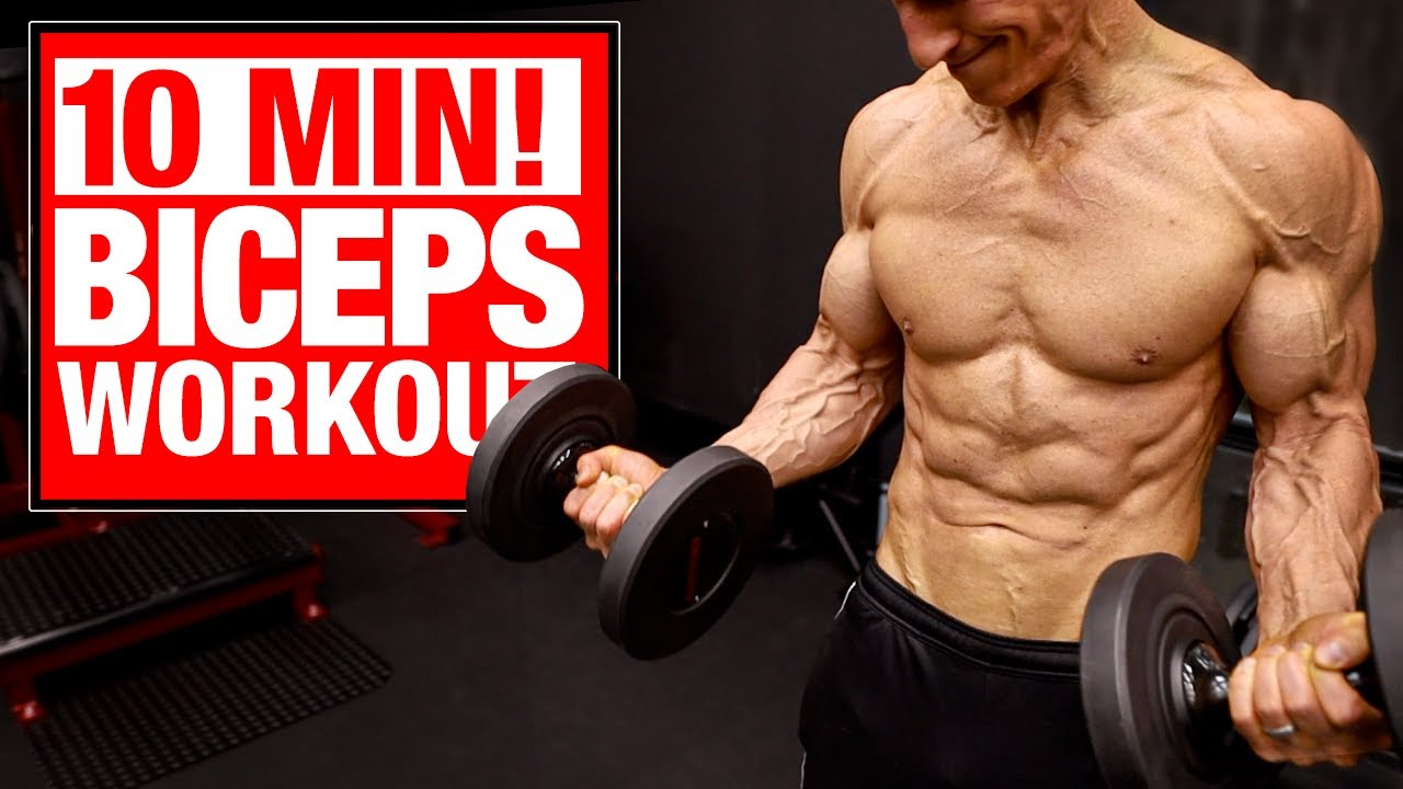 10 Min | Home Biceps Workout
