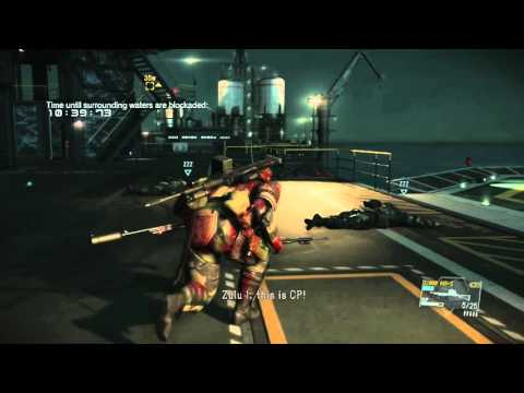 Metal Gear Solid V - Disarming a Nuke to Help Out With World Disarmament - 60 FPS