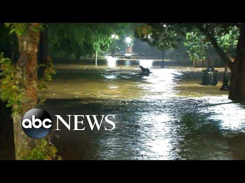Rain, flooding pound the East Coast