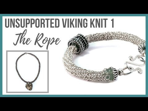 Unsupported Viking Knit 1: The Rope Tutorial - Beaducation.com