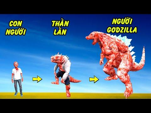 GTA 5 - Câu chuyện về Cậu bé thăn lằn phóng xạ Godzilla   GHTG