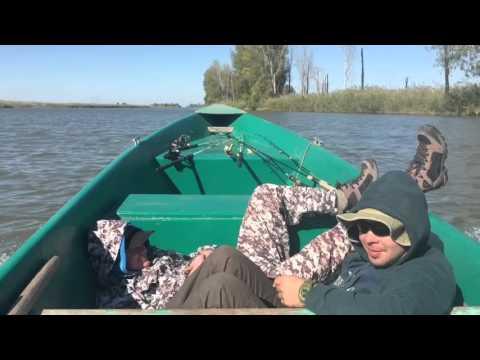 Рыбалка Астрахань 3-10 октября 2015 клуб ЛОМ база Олигрифиш