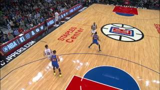 Jamal Crawford Beats The Buzzer In LA From Deep | 12.07.16