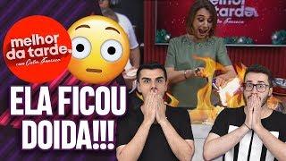 CATIA FONSECA BOTOU FOGO NO PROGRAMA MELHOR DA TARDE DA BAND!  | Virou Festa