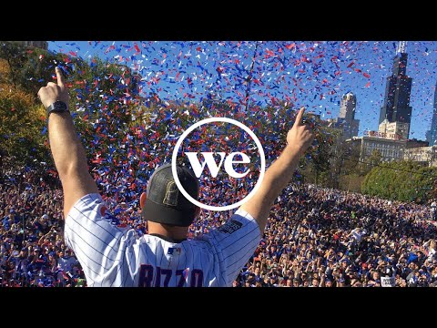 WeWork Chicago Celebrates the Cubs Win