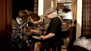 Ray's Drums For Mellow Yellow By Donovan 2013 Drum Video.