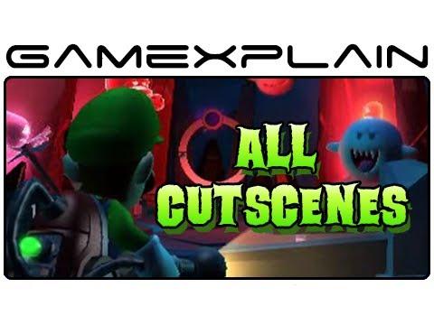 All Luigi's Mansion 2: Dark Moon Cutscenes