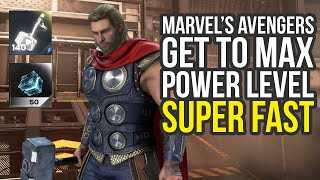 Marvel Avengers Game - How To Get To Max Power Level Super Fast (Marvel Avengers Max Power Level)