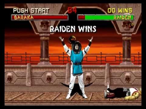 Mortal Kombat 2 - Raiden playthrough