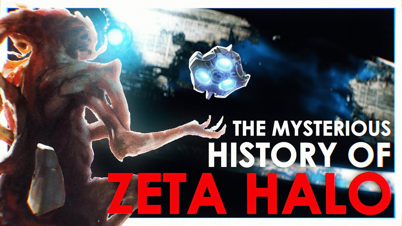 The Full History of Zeta Halo (The Most Mysterious Halo) Pre - Halo Infinite