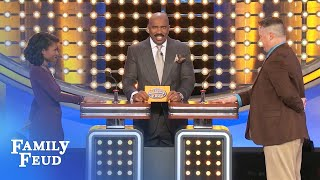 How big is Steve's WHAT? | Family Feud