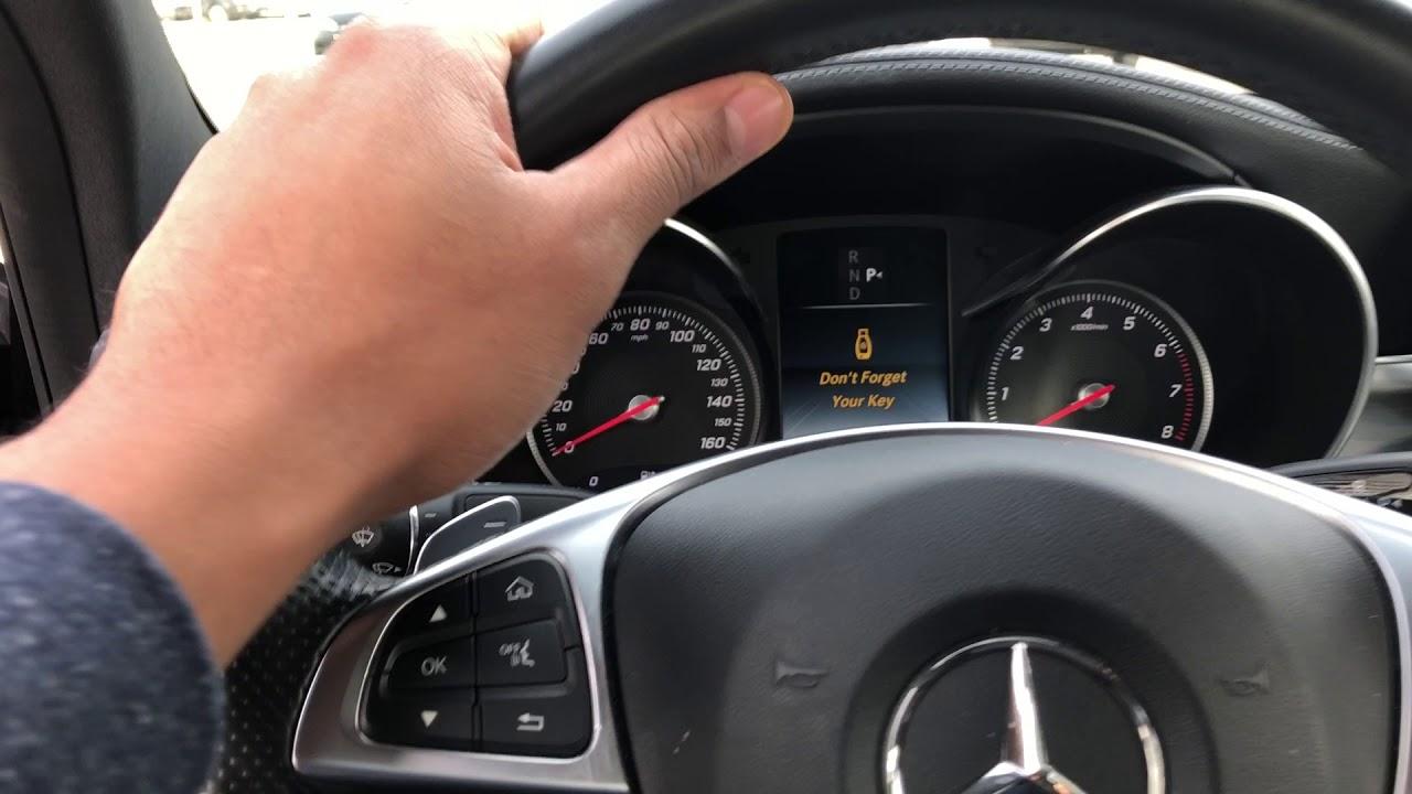 MERCEDES-BENZ C 300 - HOW TO OPEN HOOD OF CAR - YouTube