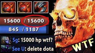 15.000 HP FOUNTAIN CAN'T KILL WTF Is This 7.27b Clinkz Rework Back To Cancer Meta Dota 2