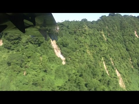 Dangerous Landing Port Vila Vanuatu